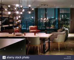 Showroom Living Room Livingroom Penthouse Showroom Battersea Power Station London