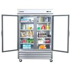 commercial stainless steel fridge fridge with glass door double glass door commercial refrigerator in stainless steel