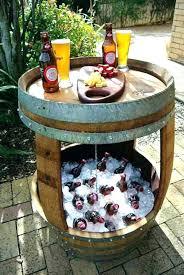 wine barrel furniture wine barrel table top wine barrel furniture ideas ways to re use wine