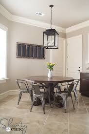 wonderful ana white benchmark octagon table diy projects in round farmhouse pedestal table modern