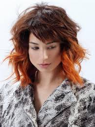 The Best Hairstyles For A Medium Length Red Hair And Red Highlights