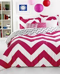 chevron pink 5 piece comforter sets from macys room