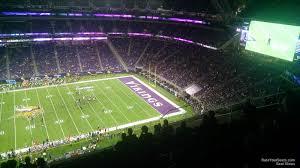 Us Bank Arena Monster Jam Seating Chart U S Bank Stadium Section 341 Minnesota Vikings