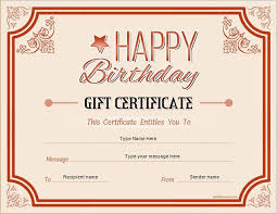 Make Your Own Gift Certificate Templates Free Birthday Gift Certificate Template Free Printables Pinterest Create