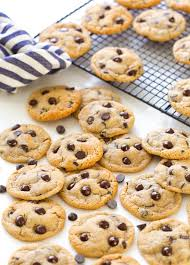 Almond flour is finely ground almonds typically made using blanched almonds with no skins. Almond Flour Chocolate Chip Cookies A Saucy Kitchen