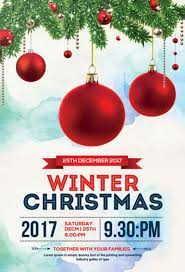 Christmas Flyer Templates Best 35 Free Flyer Templates For Christmas Party Events For
