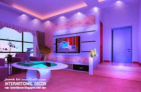 living room led lighting design. Modern Suspended Ceiling Spotlights For Living Room Lighting Ideas Led Design