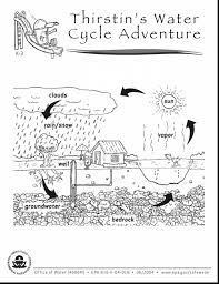Small Picture marvelous simple water cycle coloring page printable pages with