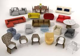 3d Max Furniture Design Furniture Model Pack 1 3d Cgtrader