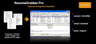 Download Resumegrabber Pro Resume Import Tool Automate Resume Data