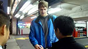 timofey mozgov alla mozgov. Beautiful Mozgov New York Knicks Timofey Mozgov Kisses Girlfriend And Signs Some Autographs  For Fans Before Game On Alla Z