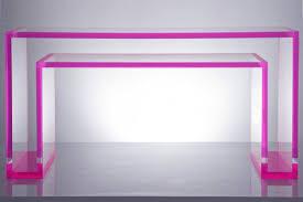 plexiglass furniture. Alexandra-von-Furstenberg\u0027s-Plexiglass-Furniture-homestheics Plexiglass Furniture I