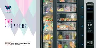 Fresh Food Vending Machine Beauteous CMS Shopper 48 Fresh Food Vending Machine Available To Rent Or Buy Leeds