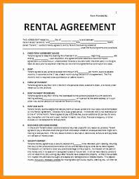 House Contract Form 12 13 House Rent Contract Form Lasweetvida Com