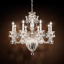 bale 11 light 110v chandelier with clear crystals from swarovski