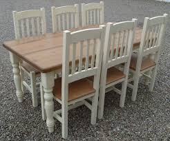 cheshire 72 x 36 painted dining table and chairs