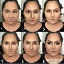 1000 ideas about contouring round faces on round