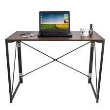 foldable office desk. Foldable Computer Table Study Laptop Folding Desk Office 100x48x75 #FoldableComputerTable #Desks