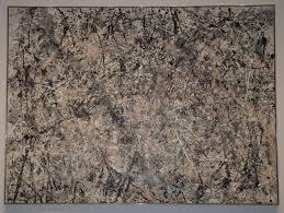 Jackson Pollocks Number One 1950 Lavender Mist Le Art