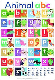 Buy Animal Abc Wall Chart Book Online At Low Prices In India