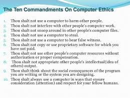 computer ethics slides 6 explanation iuml130151 computers