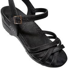 Black Clog Sandals
