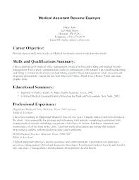 Resume Templates For Dental Assistant Amazing Medical Resume Template For Dental Assistant Example Templates Cv
