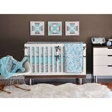 image of interior modern baby bedding