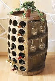 Tonneau De Rangement Pour Bouteille De Vin Barrique Tonneaux Et
