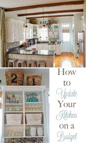 Updating Kitchen How To Update Your Kitchen On A Budget Home Stories A To Z
