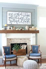 fireplace wall decor fall decorating mantel the lettered cottage house of belonging brick ideas fireplace wall decor