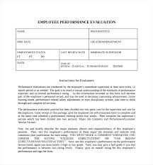 Employee Evaluations Of Staff Self Evaluation Form Beautiful Free ...
