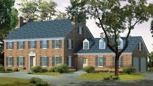georgian house plans. Georgian Style House - Plan HWBDO01869 Plans C