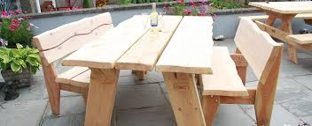 large rustic garden table rustic garden furniture hand mad on garden bench outdoor furniture pool