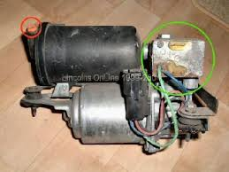 air ride system how do you check the air ride system back won t how the air suspension works the system consists of a compressor built in vent solenoid and air drier compressor relay