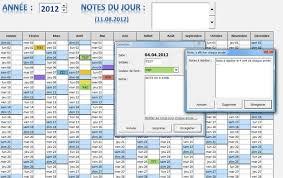 calendrier excell calendrier pratique v1