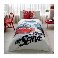 details about cars crush kid s cotton 3pc quilt duvet bedding set single twin free fast ship