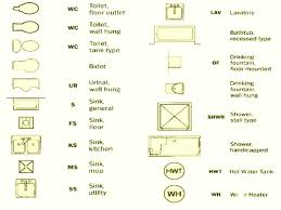 floor plan symbols. Kitchen Floor Plans Symbols Toliet Bathroom Plan Simple