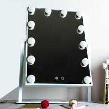 Mirror with lighting Backlit Best Led Lighting For Makeup Mirrors Cheap Lighted Makeup Mirrors Portable Dhgate Hollywood Led Makeup Mirror With Lights Aluminum Vanity Makeup