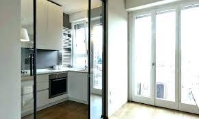 double sliding door pocket glass doors patio barn for company