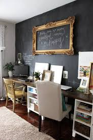 budget friendly home offices. Chalk Paint On Basement Walls -this Sounds Really Fun And Great For Kids 20 Budget Friendly But Super Cool Ideas | Offices Pinterest Home I