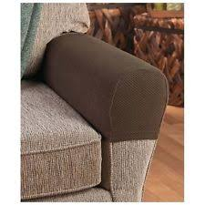 armchair arm covers. Delighful Arm Armrest Covers Stretchy 2 Piece Set Chair Or Sofa Arm Protectors Stretch To  Fit Throughout Armchair EBay