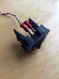 hardwired garage door remote 2016 honda civic forum 10th gen pick it up on wired it to my opener popped the panel off pulled blank and installed new switch works great honda garage door opener or accessory