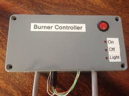 picture of gas burner controller