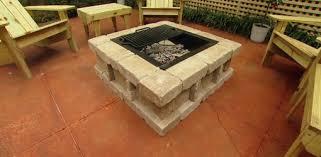 concrete patio with fire pit. Beautiful Pit Paver Fire Pit On Concrete Patio To Concrete Patio With Fire Pit