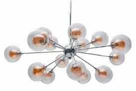 the modern amber bubble chandelier from shades of light plaster disaster