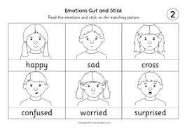 Feelings Emotions Primary Teaching Resources Printables