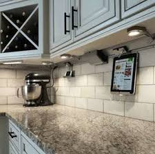 Backsplash Lighting Fascinating UnderCabinet Lighting 48 Shining Examples Bob Vila