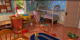 Andy S Bedroom Toy Story Places Pinterest Bedroom Toys