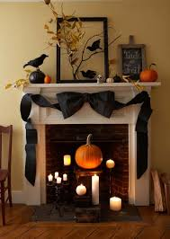 spooktacular halloween mantel decorating ideas  spooky